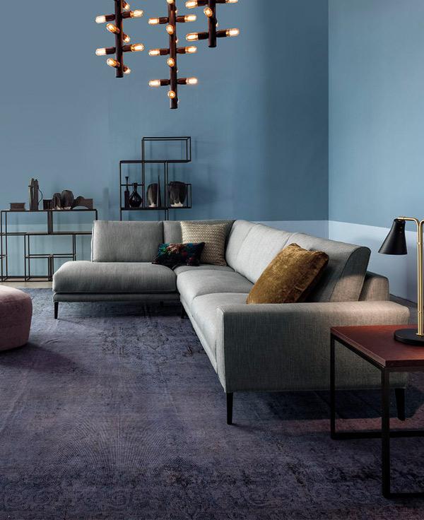Ampia gamma di divani e sofa nello store Vivarelli